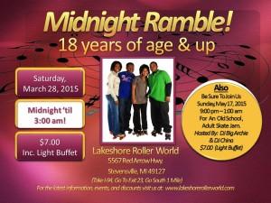 LRW Midnight Ramble 3.28.2015